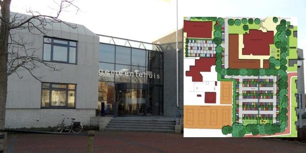 Omgevingsvergunning verstrekt voor uitbreiding gemeentehuis