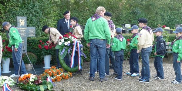 Herdenking gevallenen op begraafplaats Goedereede