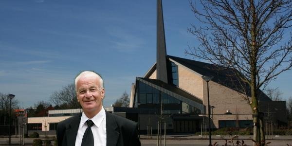 Tijdrede door ds. D.J. Budding in Dirksland