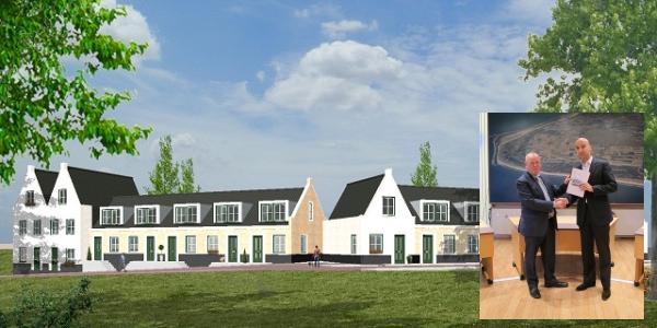 Starterswoningen voor Molenkade Stellendam