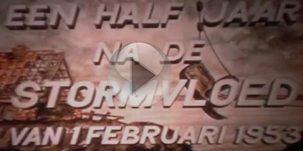 [Video] Unieke film uit 1953 over herstel dijken Goeree-Overflakkee
