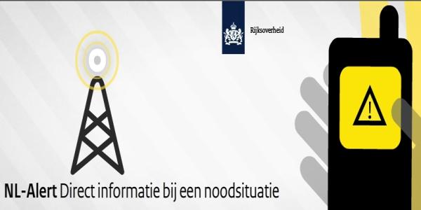 Maandag 4 februari eerste landelijke controlebericht NL-Alert