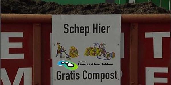 Gratis compost als beloning voor scheiden afval