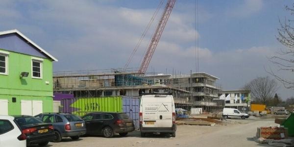 Hoogste punt woonzorgcomplex Nieuw Rijsenburgh