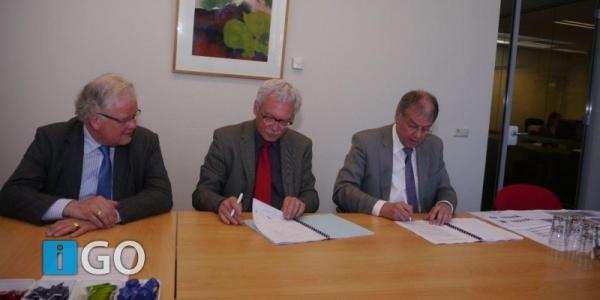 Ondertekening overeenkomst Woongoed GO en gemeente GO