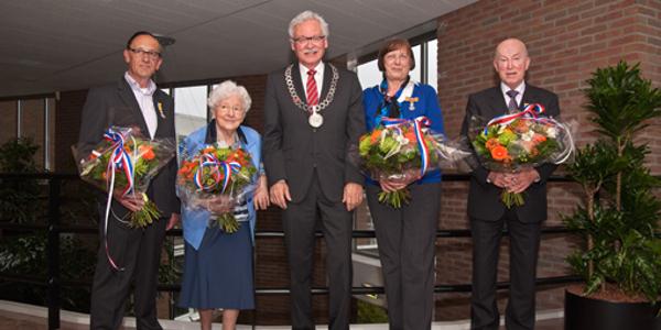 """Vier Koninklijke Onderscheidingen op eiland tijdens de """"Lintjesregen"""""""