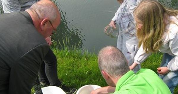 Wethouder Tollenaar geeft startsein Waterlessen