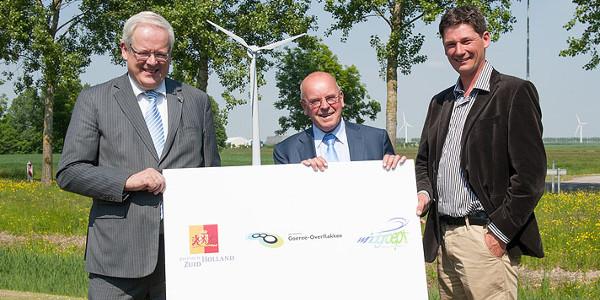 Samenwerkingsovereenkomst 'Wind werkt voor Goeree-Overflakkee' ondertekend