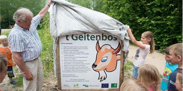 Opening van Geitenbos door Koningswoud