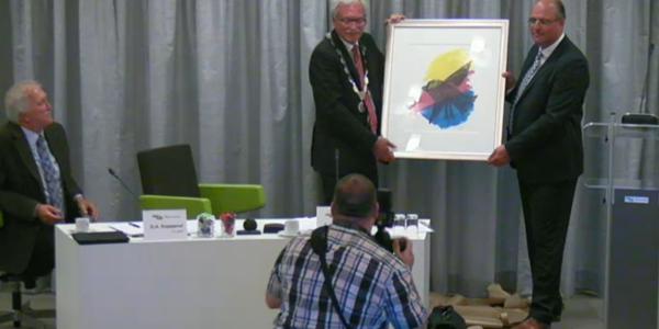 Waarnemend burgemeester Kleijwegt neemt afscheid