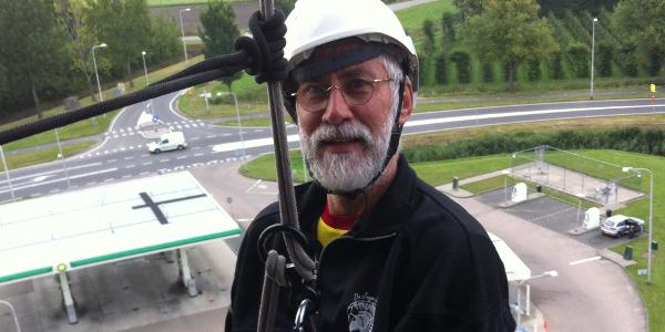 Abseilen van Watertoren Dirksland