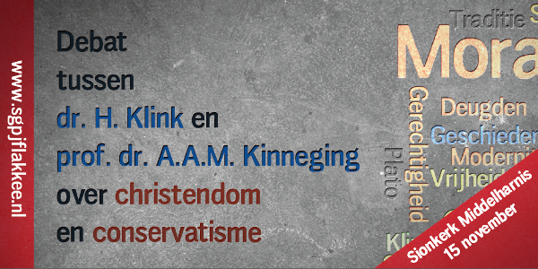 Debatavond over christendom en conservatisme bij SGPJ Flakkee