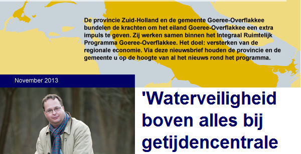 'Waterveiligheid boven alles bij getijdencentrale Brouwersdam'
