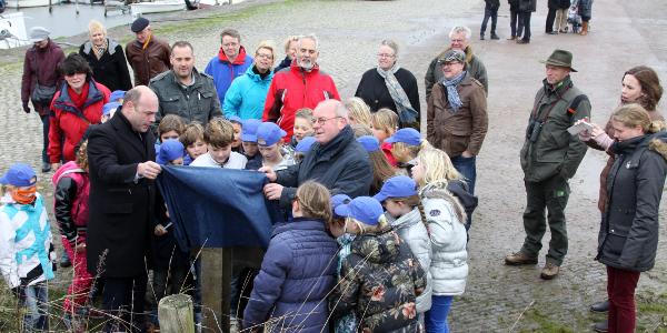 Pleisterplaats Haven van Battenoord feestelijk geopend