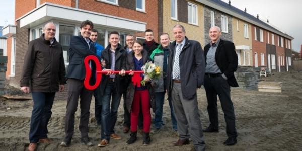 Eerste woningen uniek project CPO Molenplein opgeleverd