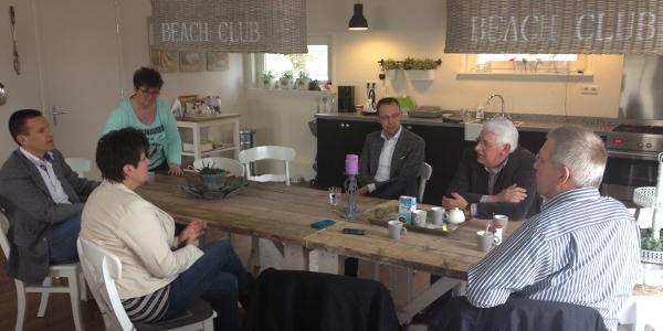 SGP fractie bezoekt Thomashuis Den Bommel