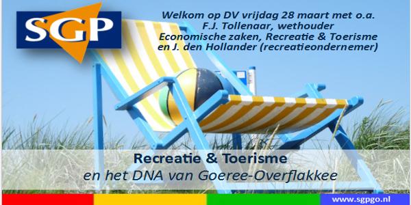 Recreatie & Toerisme en het DNA van GO