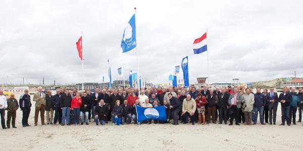 Negen blauwe vlaggen voor Goeree-Overflakkee