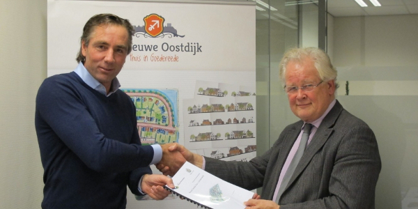 Anterieure overeenkomst ondertekend Nieuwe-Oostdijk Goedereede