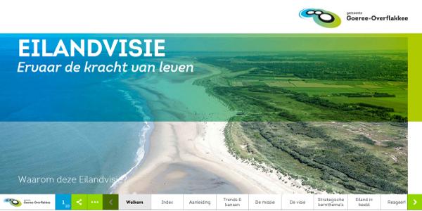 Gemeenteraad Goeree-Overflakkee stemt unaniem in met toekomstvisie eiland