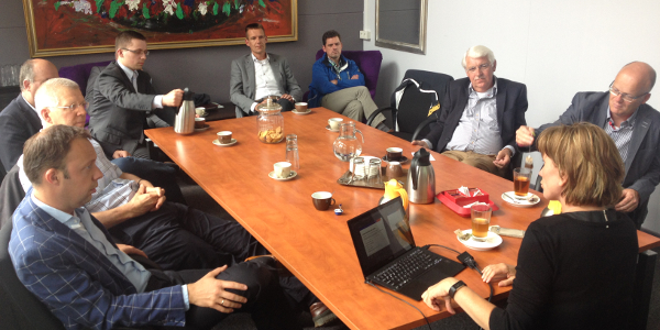 De SGP fractie op werkbezoek in het Diekhuus