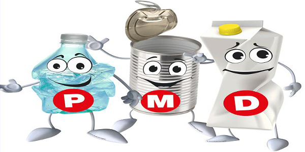 Plastic, metaal en drinkpakken voortaan in één inzamelcontainer