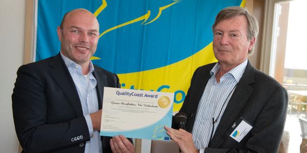 Goeree-Overflakkee ontvangt Quality Coast Gold Award