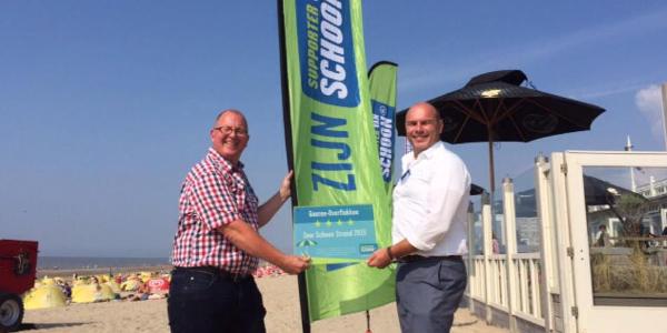 Goeree-Overflakkee ontvangt vier sterren in de Schoonste Strandverkiezing