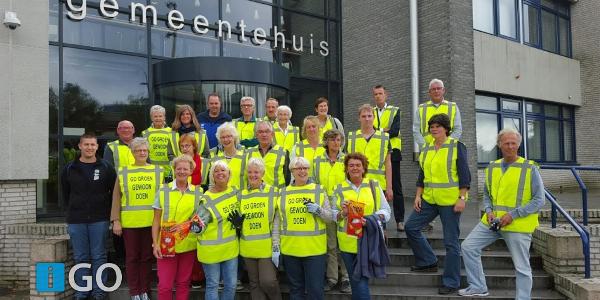 Vrijwillige zwerfafvalopruimers Goeree-Overflakkee gestart