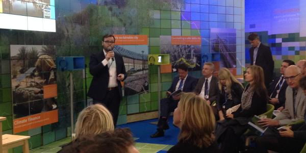 Goeree-Overflakkee deelt duurzame ambities tijdens klimaattop COP21 in Parijs!