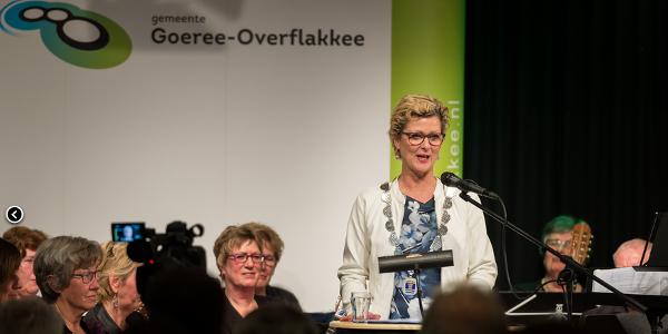 Toespraak nieuwjaarsreceptie burgemeester Grootenboer-Dubbelman