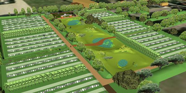 Begraafplaats Ouddorp in combinatie met natuur