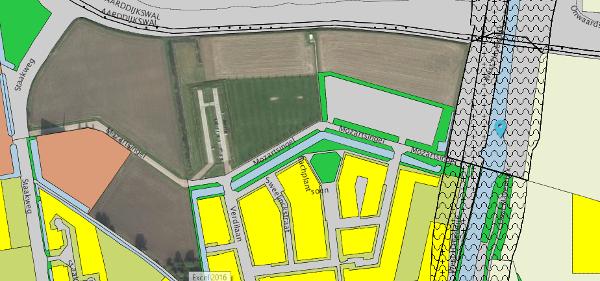 Ontwerpbestemmingsplan parkeerterrein Kleine Boezem Dirksland ter inzage