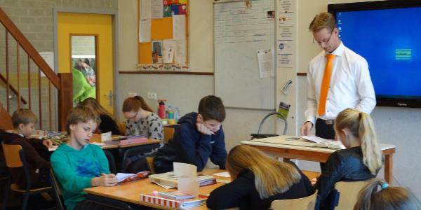 SGP geeft politieke gastles op Prins Mauritsschool Dirksland