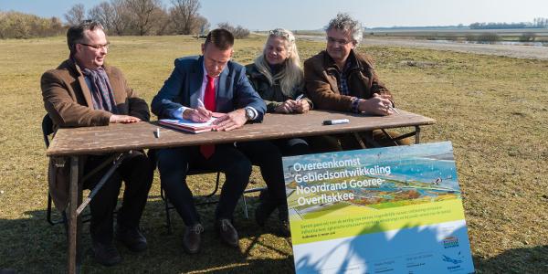 Unieke samenwerking voor een natuurlijke en aantrekkelijke Noordrand Goeree-Overflakkee