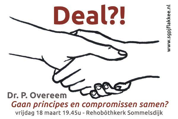 Lezing SGPJFlakkee over principes en compromissen