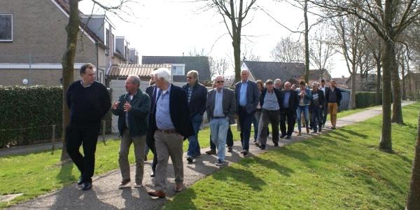 Gemeenteraad bezoekt kern Ooltgensplaat