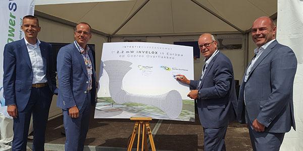Goeree-Overflakkee eerste gemeente in Europa met Sheerwind Invelox windinstallatie