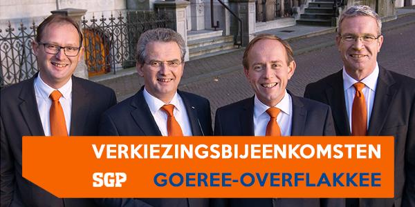 SGP op campagne op Goeree-Overflakkee