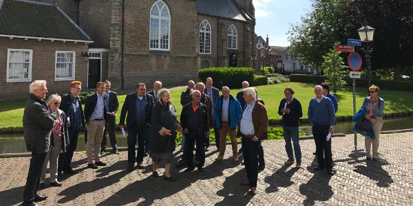 Gemeentebestuur Goeree-Overflakkee bezoekt Nieuwe-Tonge