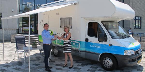 Gemeente Goeree-Overflakkee start met mobiel gemeentehuis