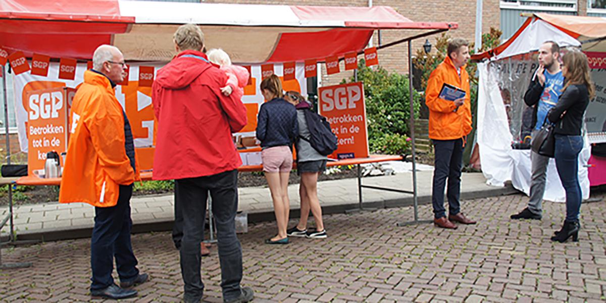 SGP peilt inwoners voor verkiezingen