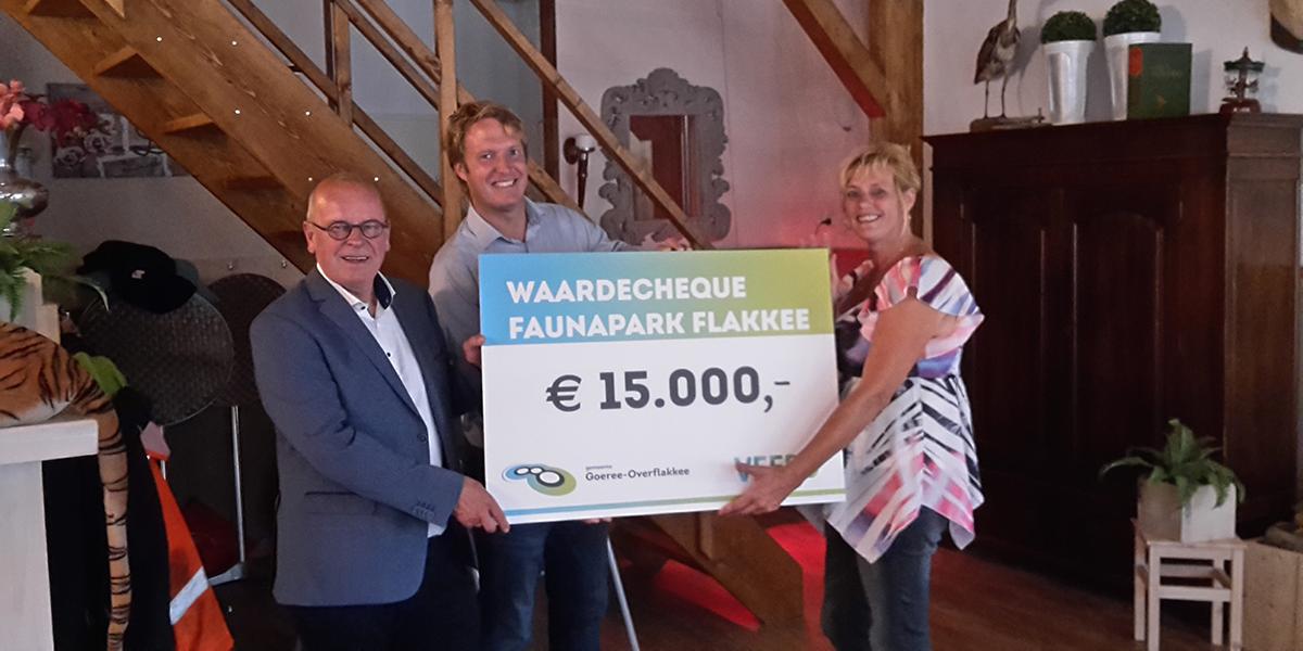 Waardecheque voor Faunapark Flakkee