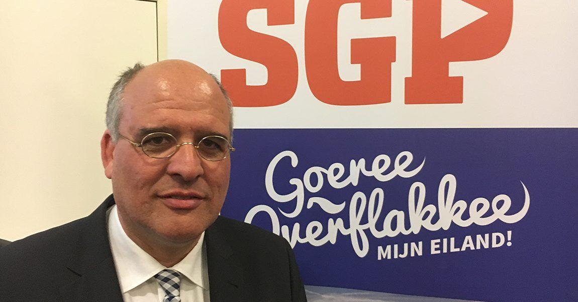 Kees van Dam lijsttrekker voor SGP
