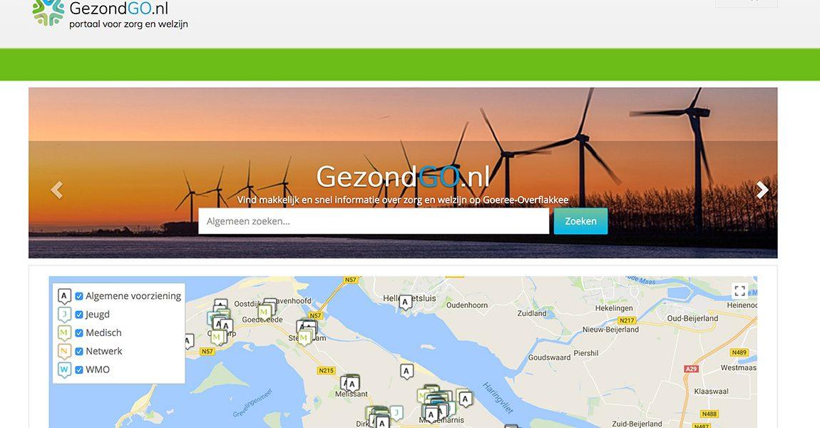Nieuw digitaal gezondheidsplatform GezondGO.nl