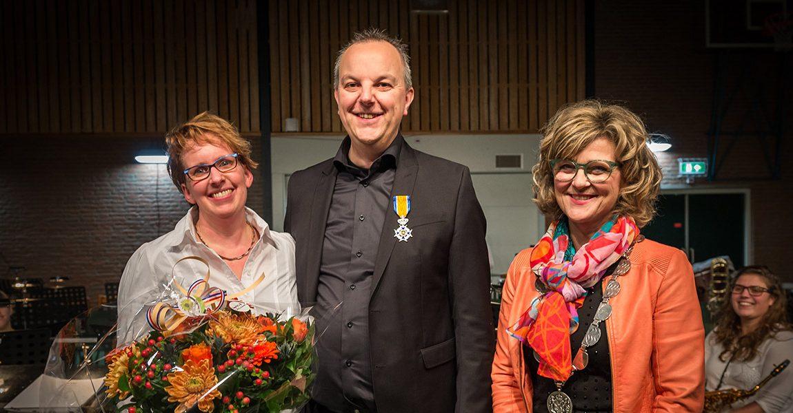 Johan Jansen uit Stellendam benoemd tot Ridder in de Orde van Oranje Nassau