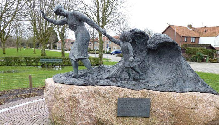 Goeree-Overflakkee herdenkt Watersnoodramp 65 jaar geleden