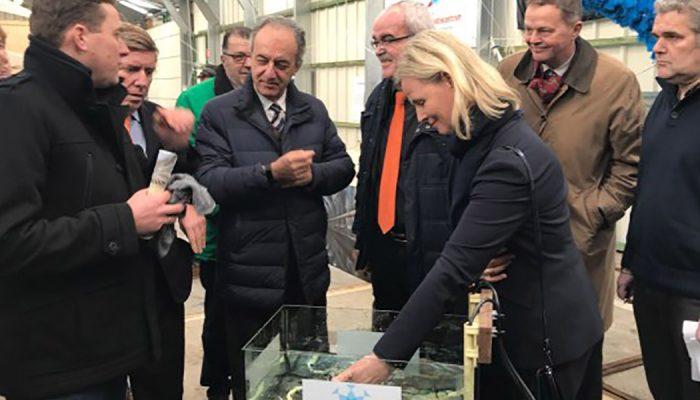 Werkbezoek Europarlementariërs aan visserijsector Stellendam