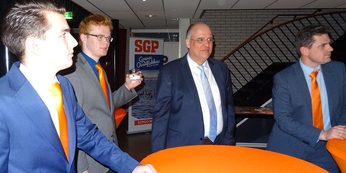 Campagne SGP startte in Nieuwe Tonge