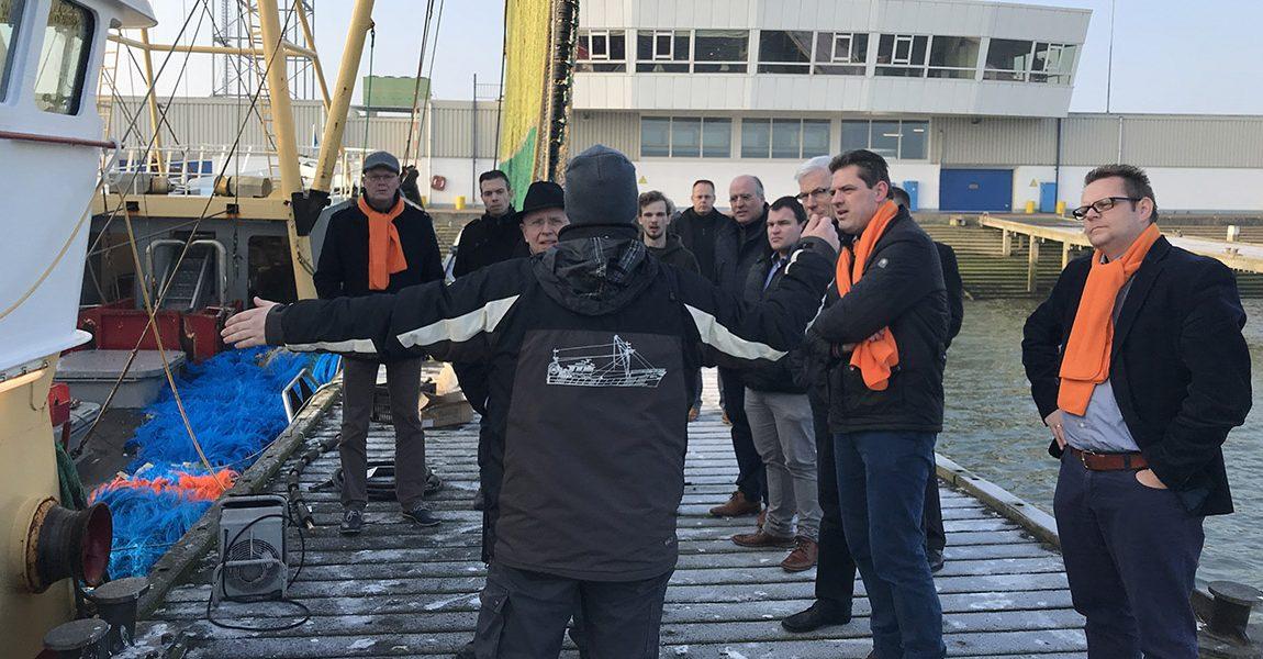 SGP: Uniek visserijcluster moet blijven in Stellendam